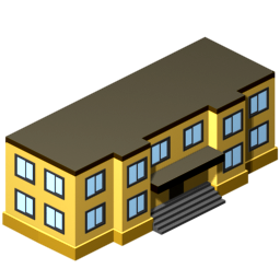 256x256 Office Building Clip Art Free Vector For Free Download About 2