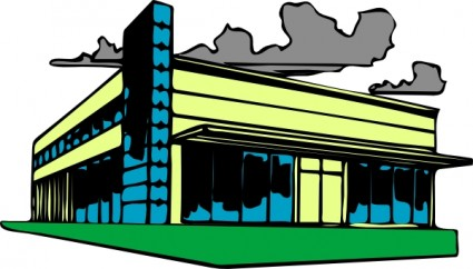 425x242 Office Clipart Commercial Building