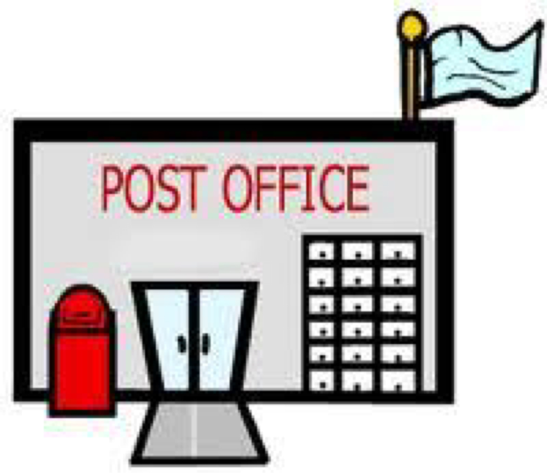 1124x973 Post Office Clipart Collection