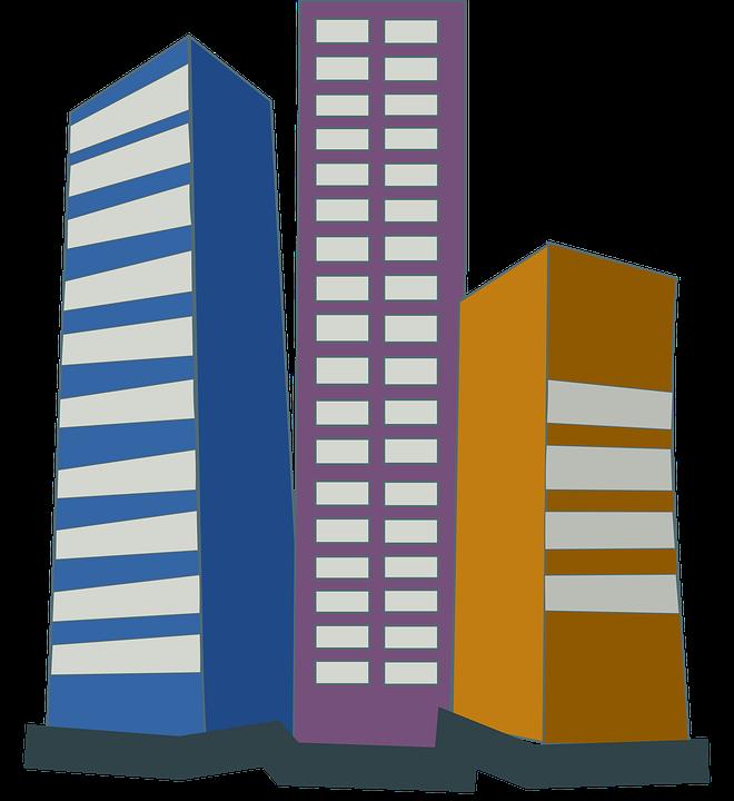 660x720 Building Clipart Cartoon