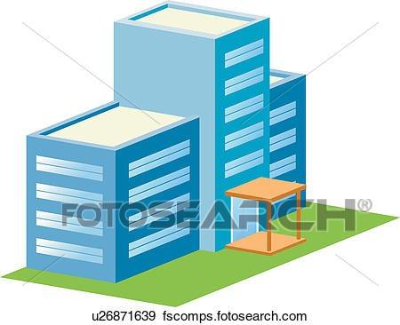 450x366 Simple Office Building Clipart Clip Art Of Office Building Build