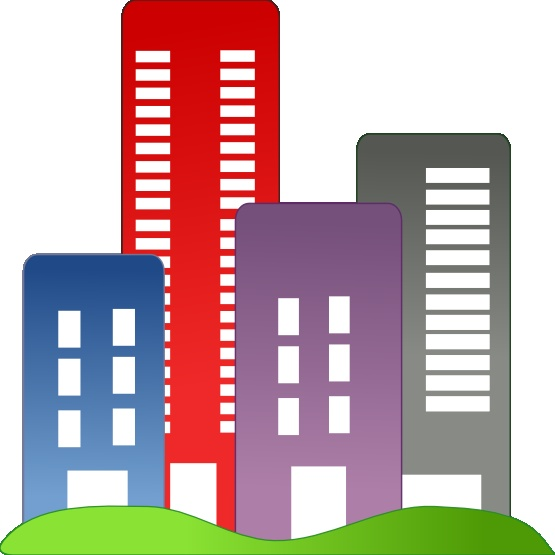 Office Buildings Clipart