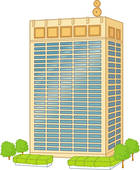 140x170 Stock Illustration Of Urban Office Building U21192908