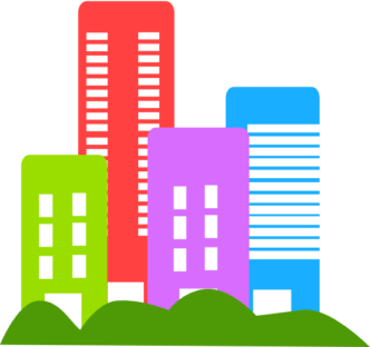 333x312 Building Clipart High Building