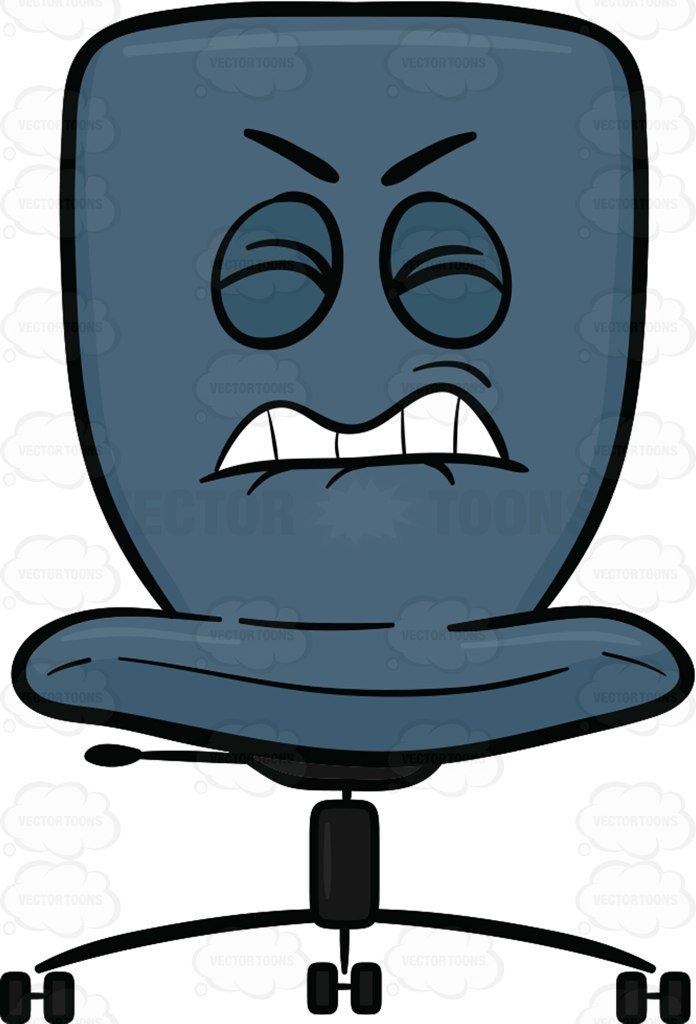 696x1024 Office Chair Clip Art Office Chair Clipart C 41004