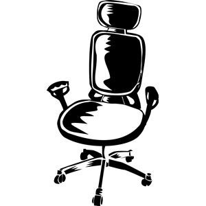300x300 Office Chair Clipart, Cliparts Of Office Chair Free Download (Wmf