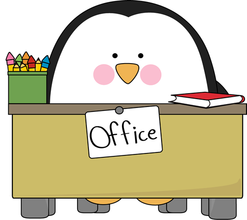 500x446 Office Penguin Clip Art
