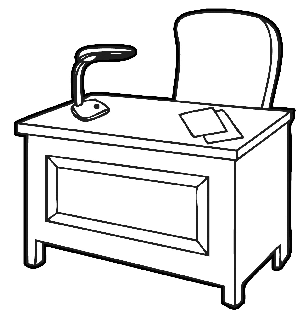 Executive Clip Art: Free Download Best Office Desk