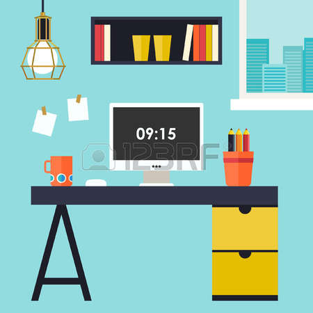 450x450 Office Clipart Home Office
