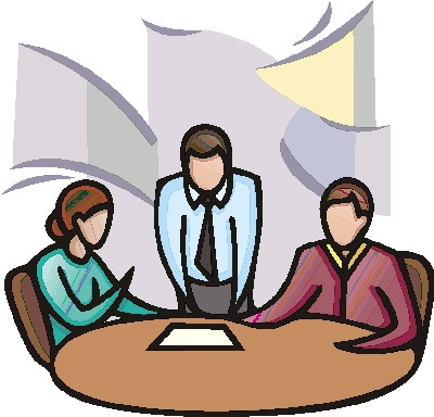 400x384 Office Meeting Clipart