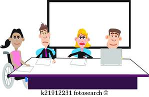 299x194 Office Meeting Clip Art Vector Graphics. 22,254 Office Meeting Eps
