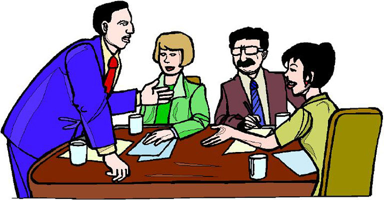 768x400 Office Meeting Clipart Kid 2