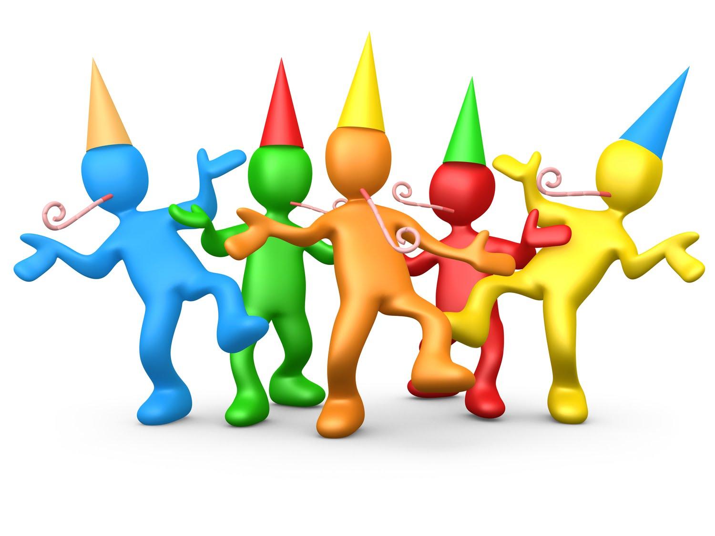 1500x1125 Office Celebration Clip Art