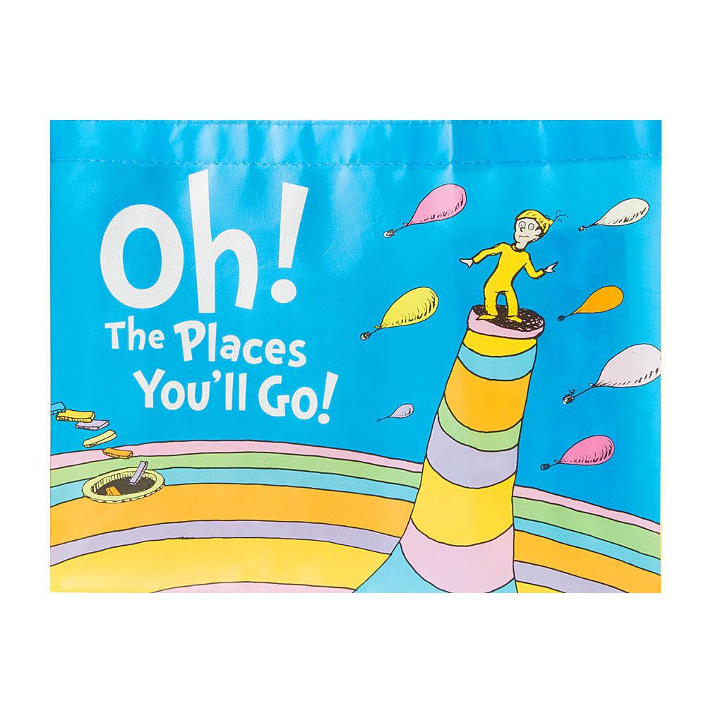 1000x1000 Dr. Seuss Oh! The Places You'Ll Go! Large Shopper Tote Bag