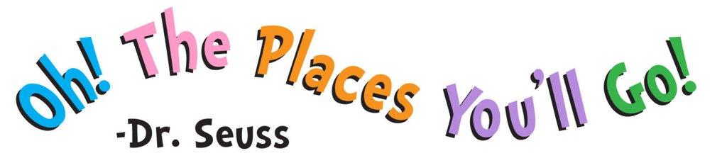 1024x223 Dr. Seuss Oh The Places You'Ll Go Removablereusable Vinyl Decal