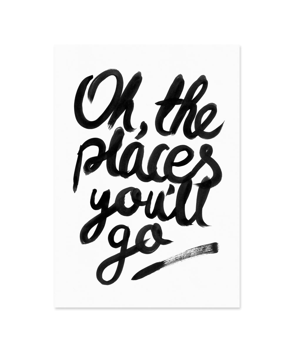 1000x1194 Oh The Places You'Ll Go Print