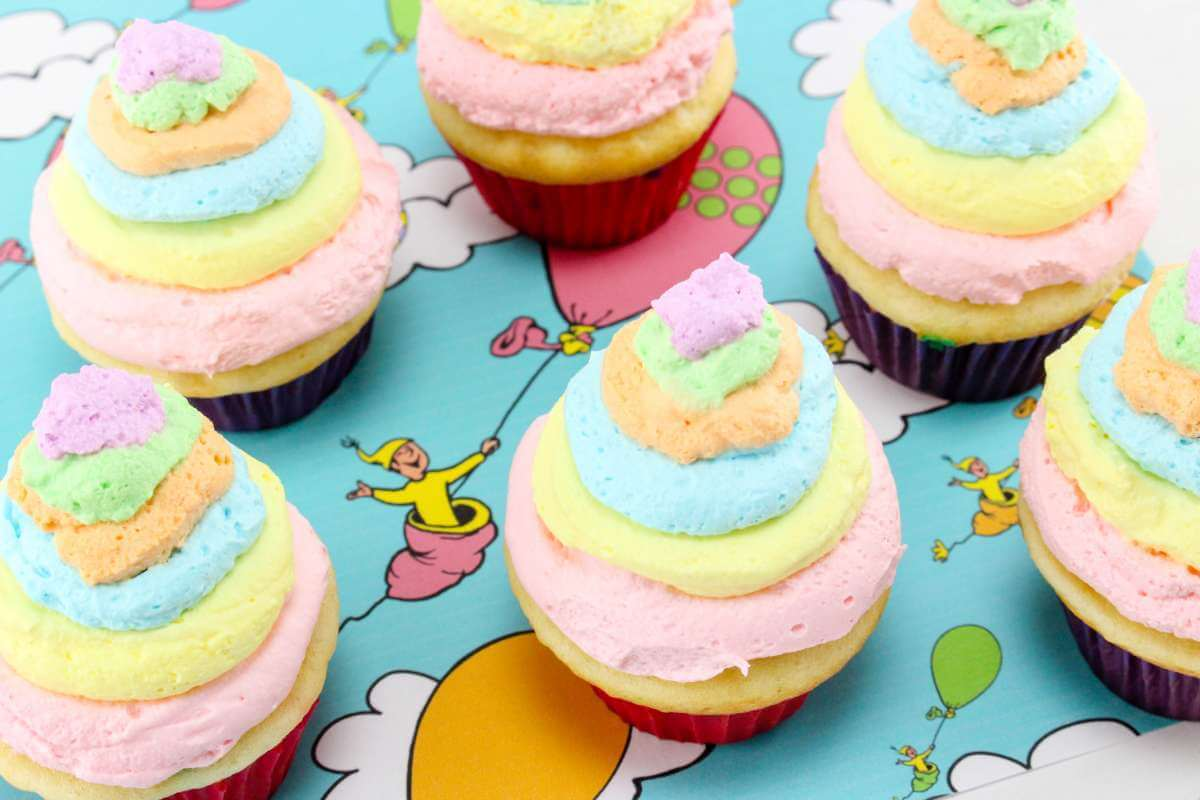 1200x800 Dr Seuss Cupcakes Oh The Places You'Ll Go The Inspiration Edit