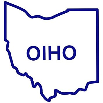 355x355 Buy Ohio State Outline Decal Sticker (Blue, Mirrored), Decal