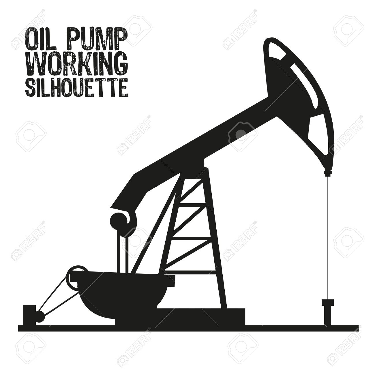 oil derrick clipart