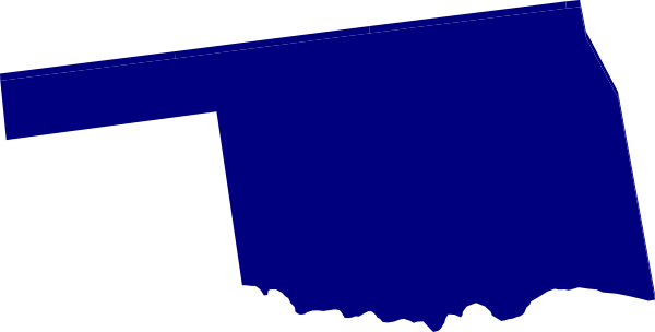 600x304 Oklahoma Bluepurple Clip Art