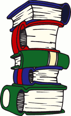 246x400 Free Old Book Clipart