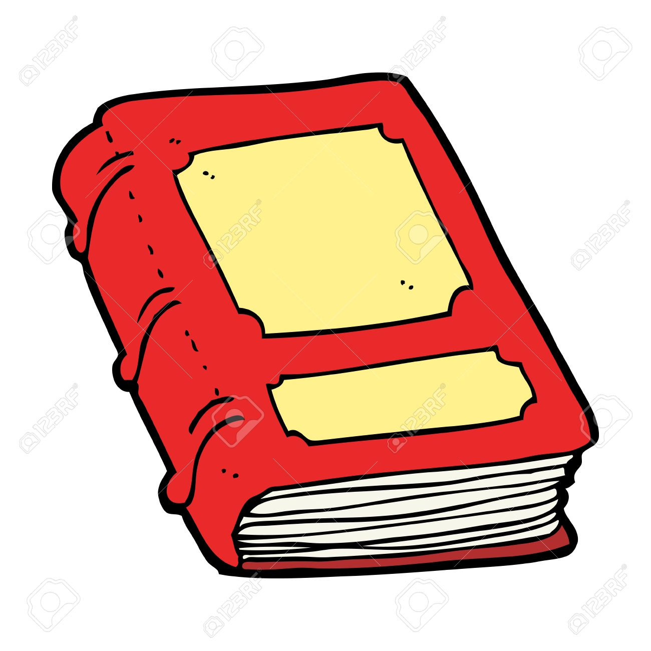 1300x1300 Cartoon Old Book Royalty Free Cliparts, Vectors, And Stock