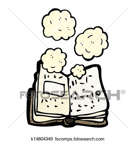 449x470 Clip Art Of Dusty Old Book Cartoon K14804349