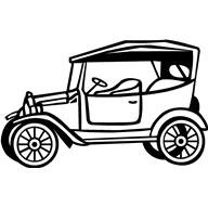 192x192 Old Car Clipart