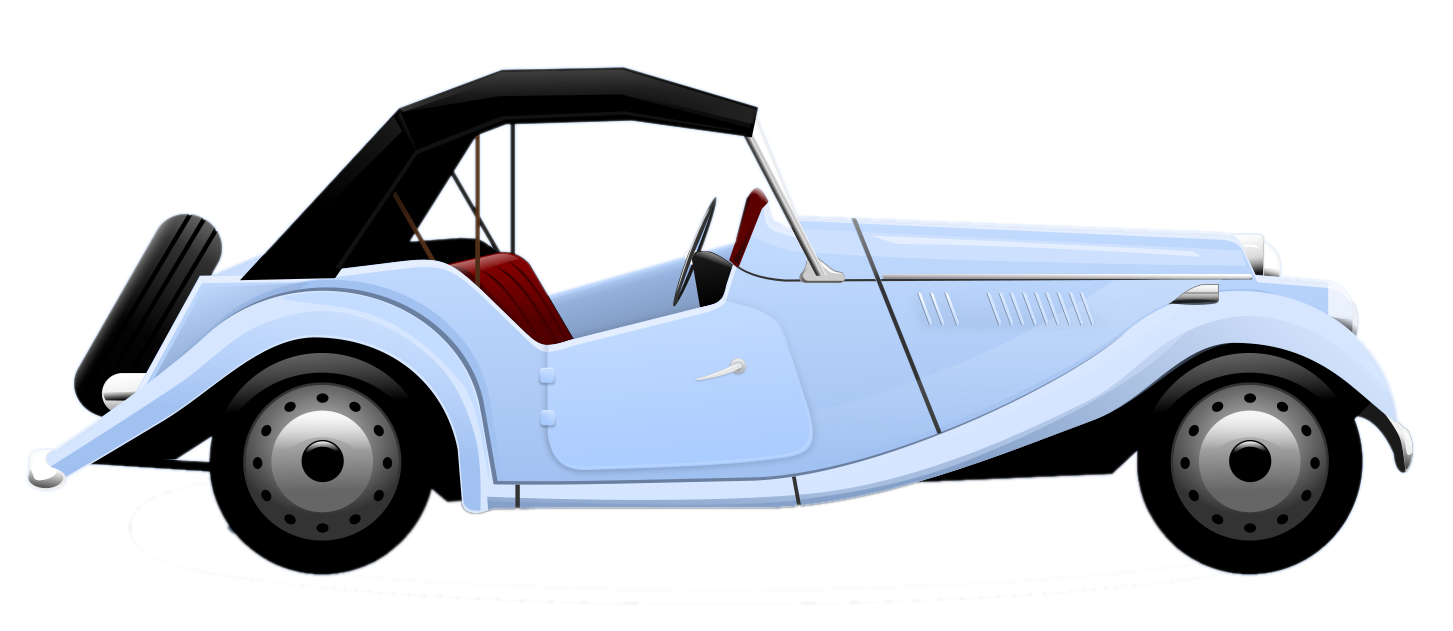 1453x631 Blue Car Clipart Old Fashioned Car