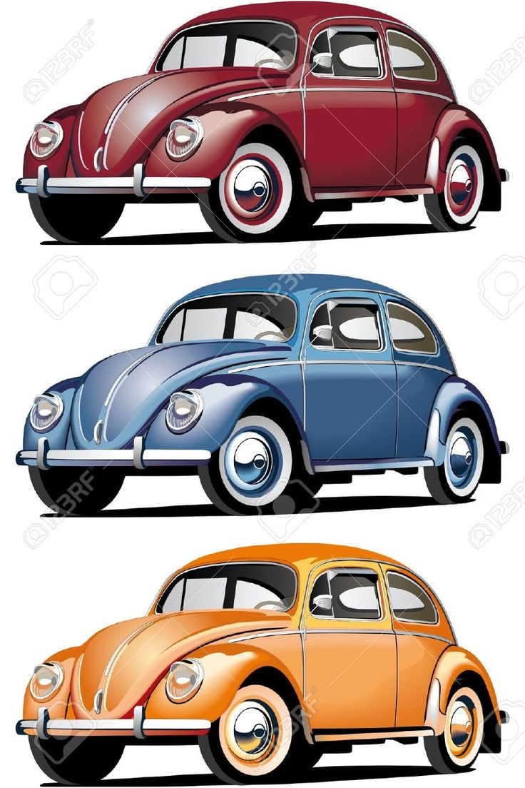 Old Cars Clipart