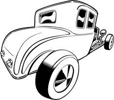 236x207 How To Draw A Classic Car In 5 Steps Cars, Digi Stamps And Stamps