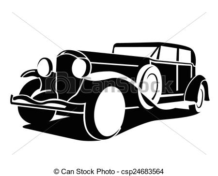 450x364 Free Clipart Classic Car