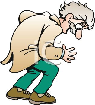 315x350 Royalty Free Clip Art Image Old Man Looking Down