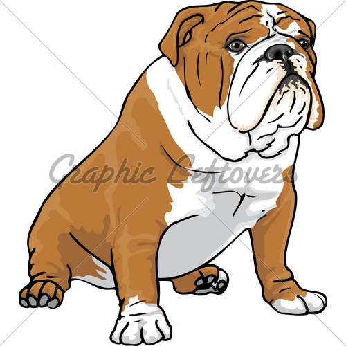 500x500 English Bulldog Clipart Many Interesting Cliparts