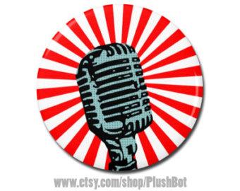 340x270 Retro Microphone Etsy