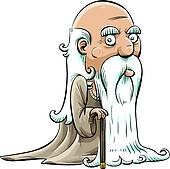 170x169 Old Man Clip Art