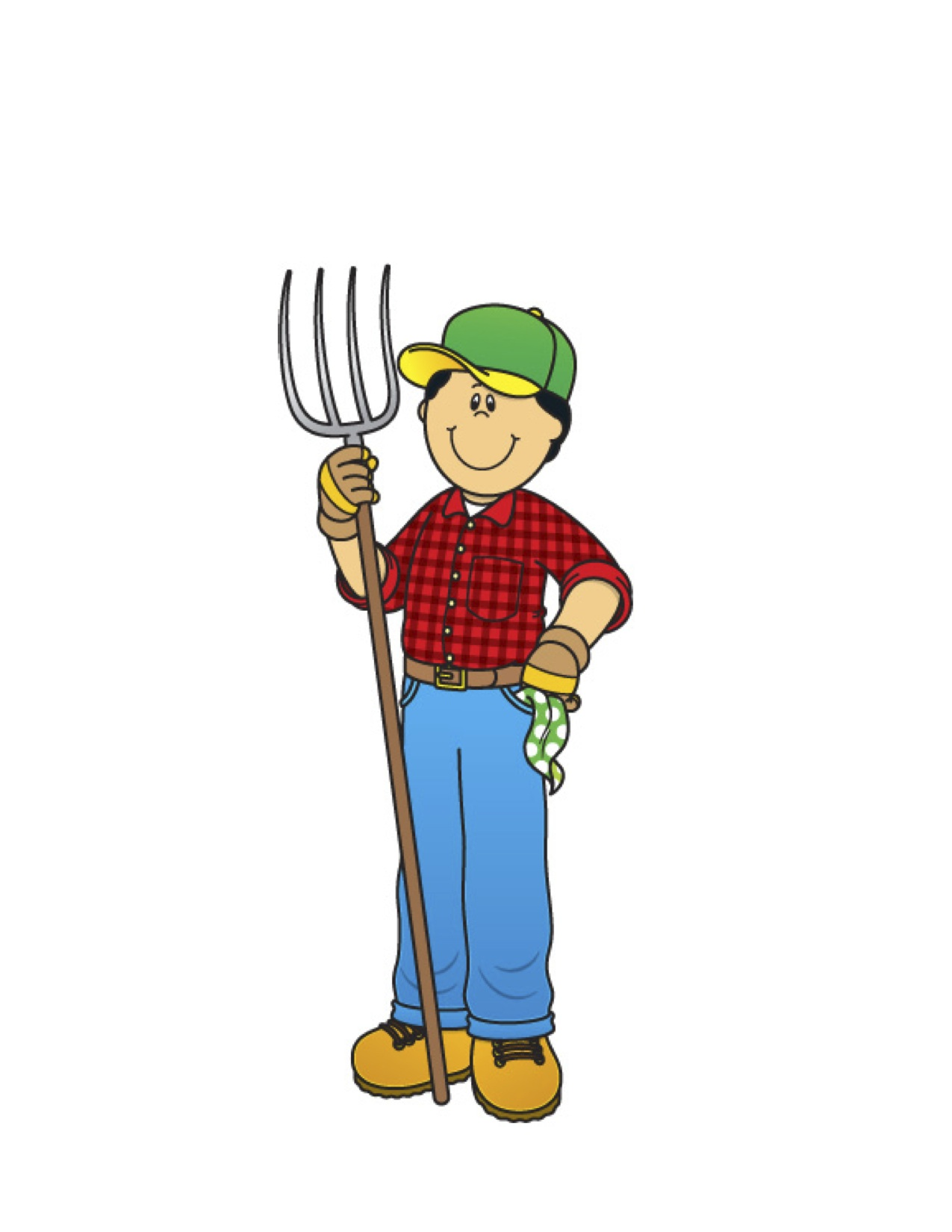 1275x1650 Old Man Farmer Clipart