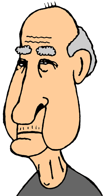 335x623 Old Man Clip Art Old Men Clipart 3