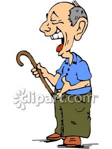 225x300 Old Man Laughing Clipart