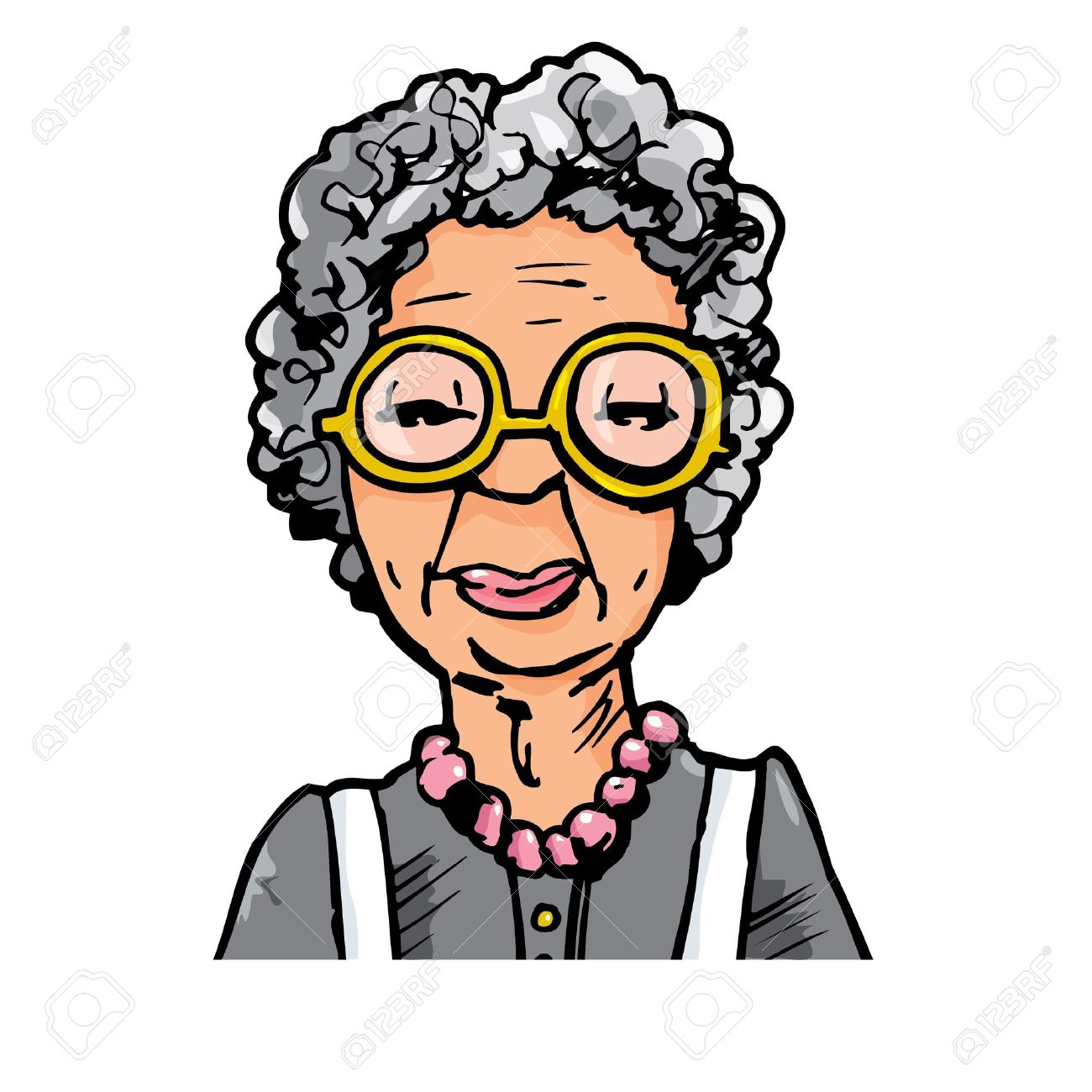 1300x1300 Old Woman Clip Art