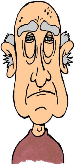 250x542 Free Old Man Cartoon Clip Art Clipartfest