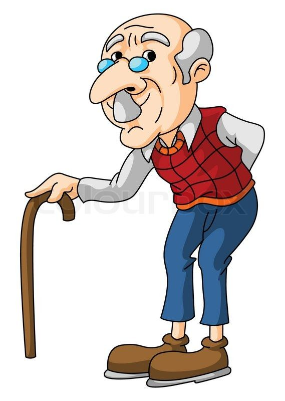 569x800 Graphics For Old Man Cartoon Graphics