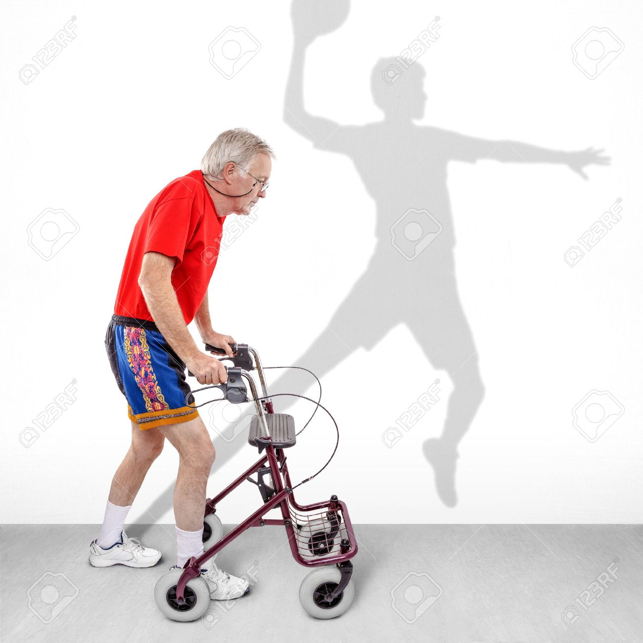 1300x1300 Rollator Walker Stock Photos Amp Pictures. Royalty Free Rollator