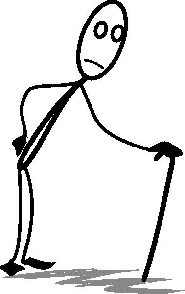 378x600 Old Stickman Clip Art