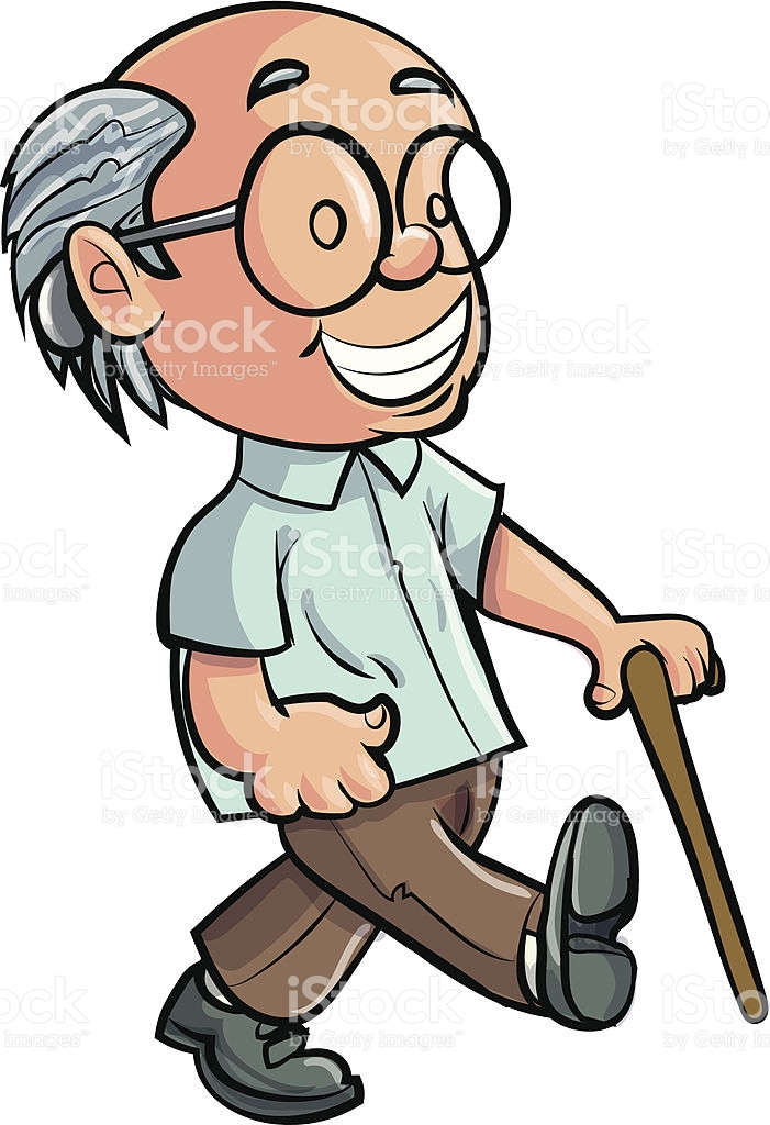 701x1024 Old People With Walker Clipart Collection