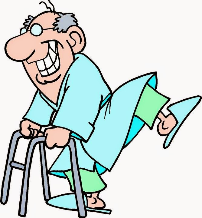 668x720 Old Man Dancing Clipart