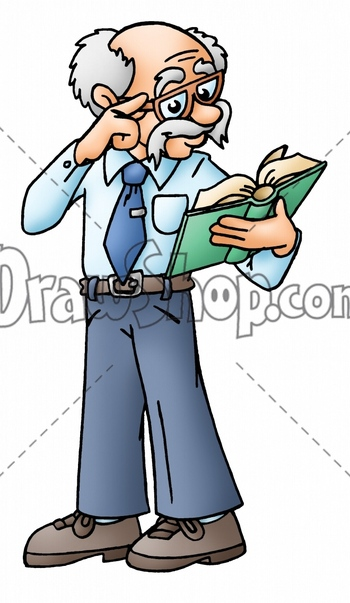 350x603 Oldman Book Clipart, Explore Pictures