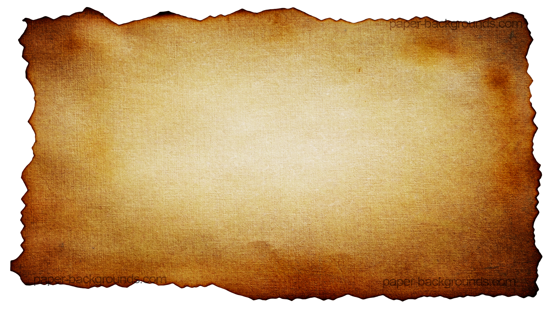 1920x1080 Old Letter Clipart Burnt Paper