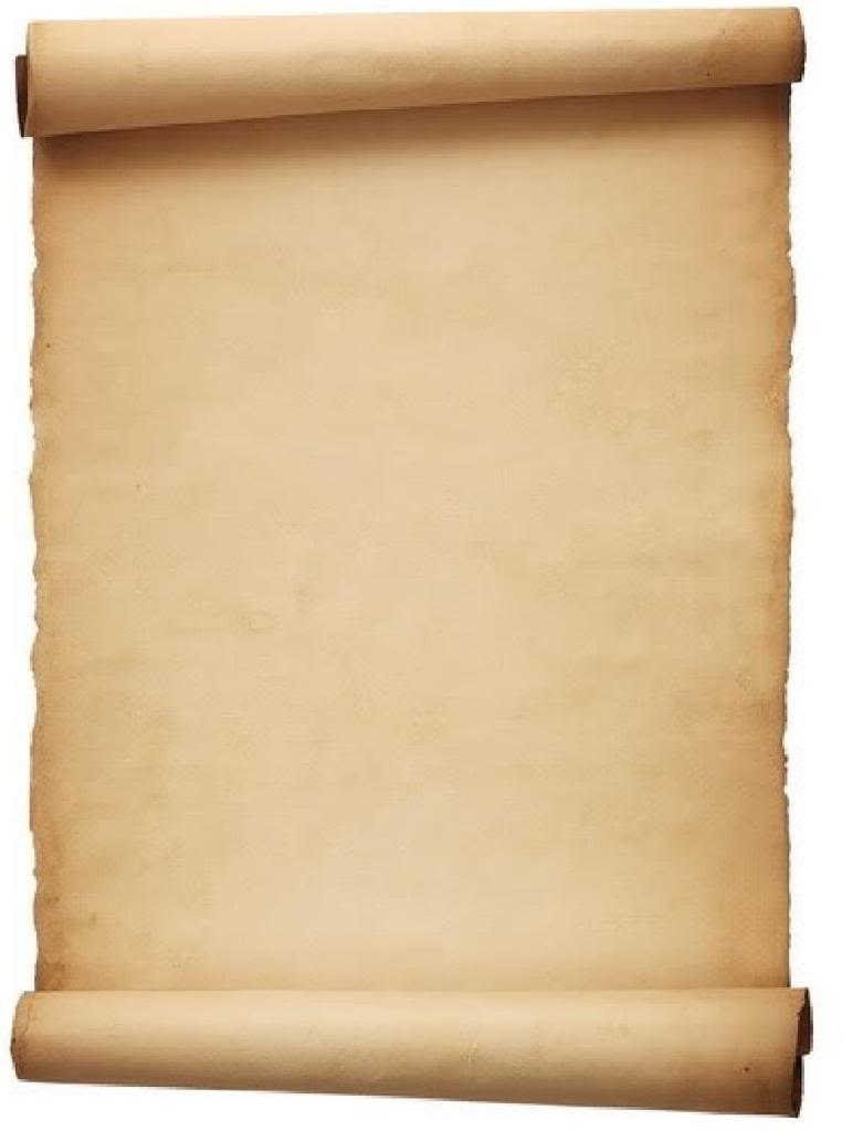 781x1024 Papyrus Like Clipart
