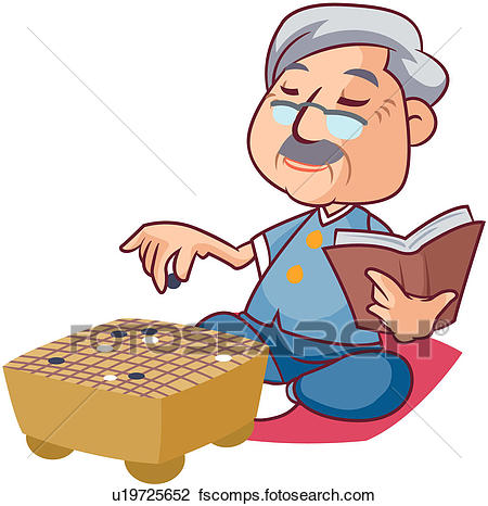 450x466 Clipart Of Retirement, Togetherness, Family, Men, Old People